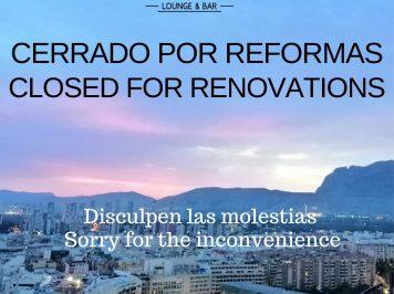 Éste Lunes 4 De Noviembre Cerramos Unos Días Por Reformas Y Mejoras