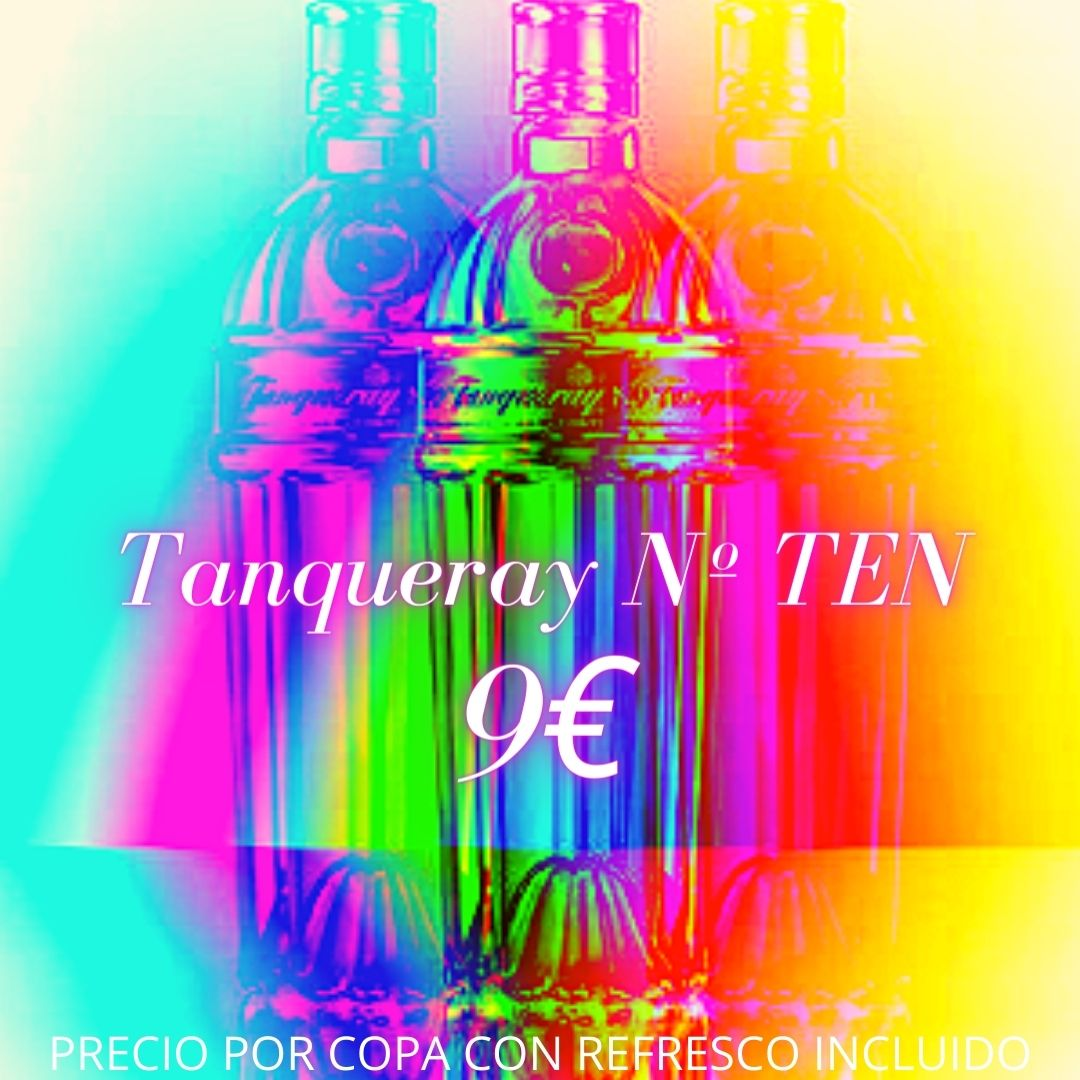 Oferta De Ginebra Tanqueray Nº TEN